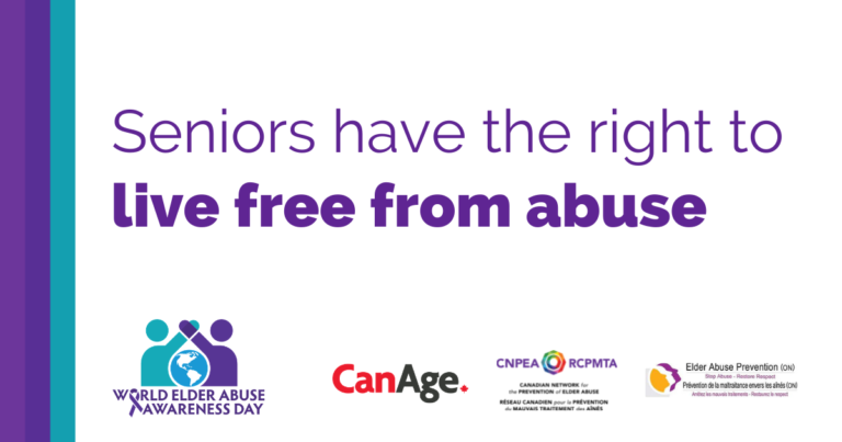 Seniors have the right to live free from abuse #WEAAD2021 ##RightsDoNoGetOld