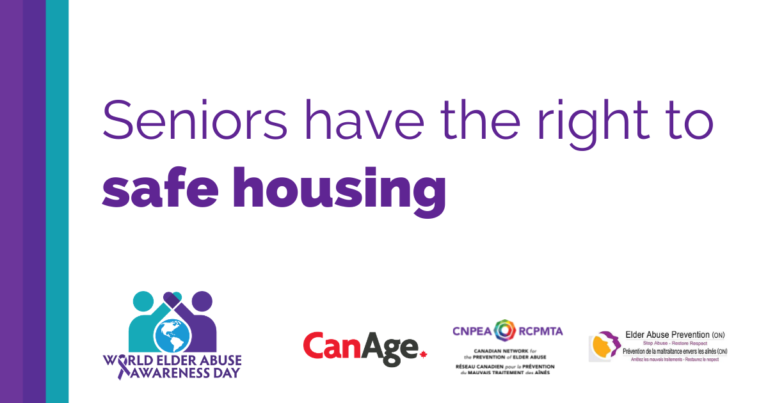 Seniors have the right to safe housing